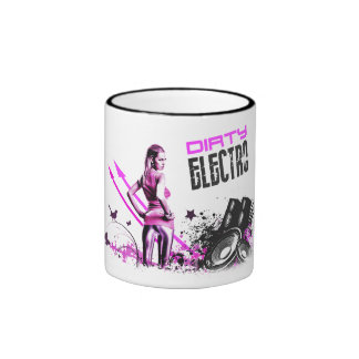 Dirty Electro Ringer Coffee Mug