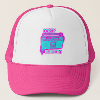 DIRTY ELECTRO TRUCKER HAT