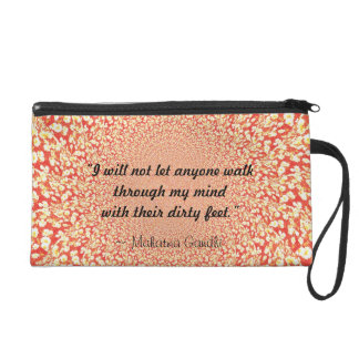 Dirty Feet (Red) Wristlet Purses
