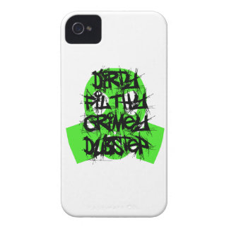 Dirty, Filthy, Grimey Dubstep iPhone 4 Case
