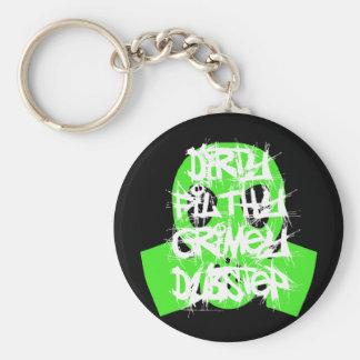 Dirty Filthy Grimey Dubstep Key Chain