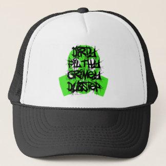 Dirty Filthy Grimey Dubstep Trucker Hat