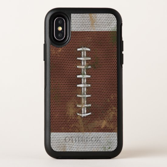 Dirty Football OtterBox Symmetry iPhone X Case