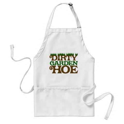 Dirty Garden HOE Apron