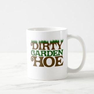 Dirty Garden HOE Classic White Coffee Mug