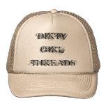 DIRTY GIRL THREADS HATS