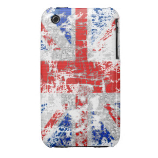 Dirty Grunge Effect Union Jack iPhone 4 Case Mate