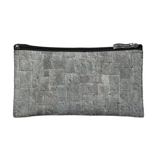 Dirty Grunged Brick Wall Cosmetic Bags