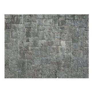 Dirty Grunged Brick Wall Post Cards