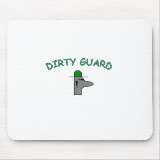 Dirty Guard Mouse Pad