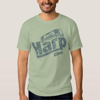 Dirty Harp Blues T Shirt