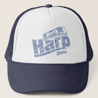 Dirty Harp Blues Trucker Hat