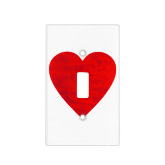 Dirty Heart Light Switch Covers