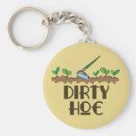 Dirty Hoe Keychain