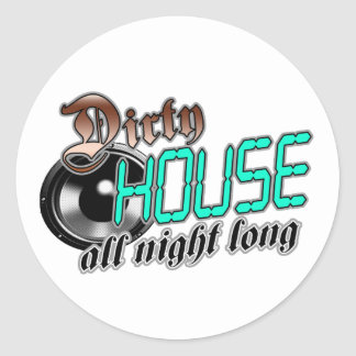 House of night stickers zazzle for House music all night long