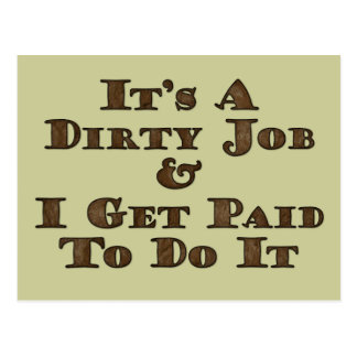 Dirty Job Postcards
