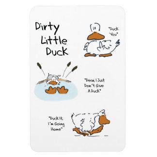 dirty little duck magnet
