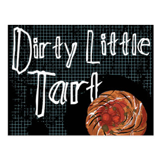 Dirty Little Tart Post Cards
