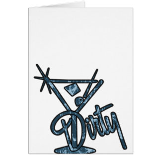 Dirty Martini - Blue Card