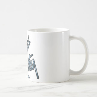 Dirty Martini - Blue Coffee Mug