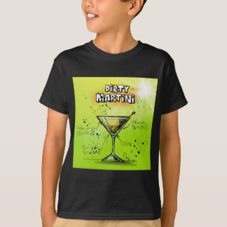 Dirty Martini - Cocktail Gift T-Shirt