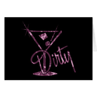 Dirty Martini - Pink Cards