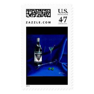Dirty Martini (Stamp) Postage Stamp