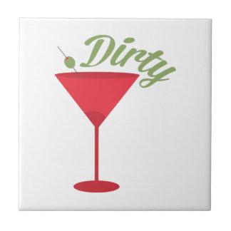 Dirty Martini Ceramic Tile