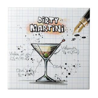 Dirty Martini Tile