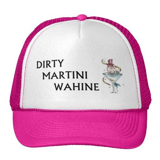 Dirty Martini Wahine Hats