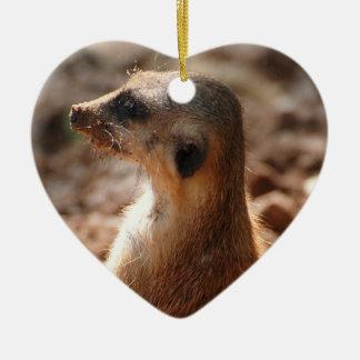 Dirty Meerkat Ornament