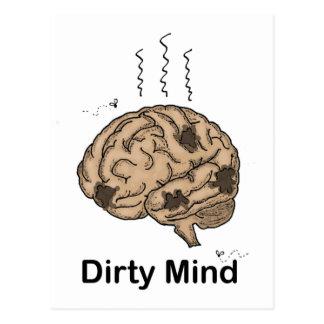 Dirty Mind Postcard