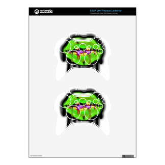 Dirty Mouth Zombie Skin Xbox 360 Controller Skins