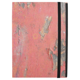 "Dirty Peeling Red Paint on Barn Wood iPad Pro 12.9"" Case"