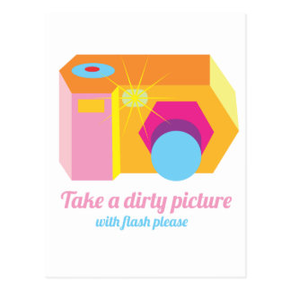 Dirty Picture Postcard