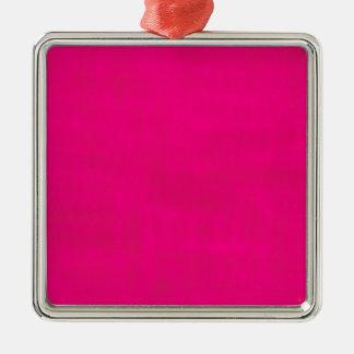 Dirty Pink Metal Ornament