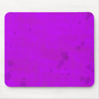 Dirty Purple Water Stains Mouse Pad