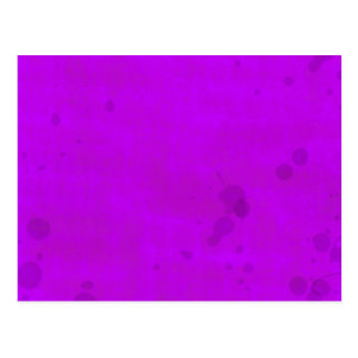 Dirty Purple Water Stains Postcard