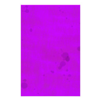 Dirty Purple Water Stains Stationery