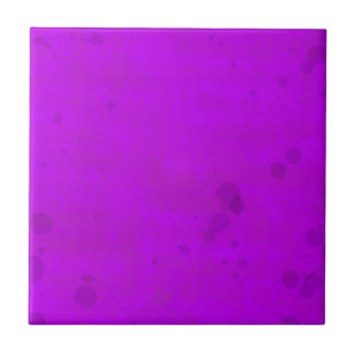 Dirty Purple Water Stains Tile
