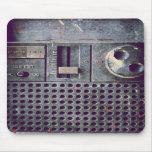 Dirty radio mouse pad