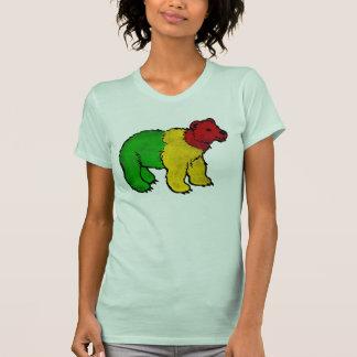Dirty Rasta Bear Tee Shirts