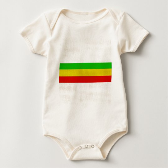 Dirty Rasta Stripes Baby Bodysuit