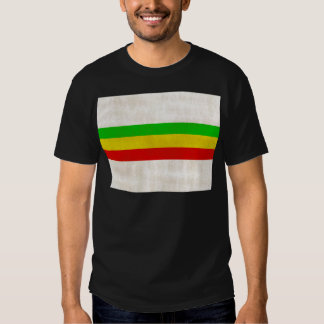 Dirty Rasta Stripes T Shirt