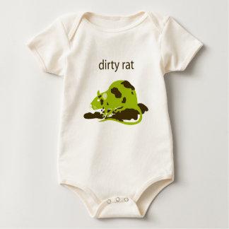dirty rat baby bodysuit