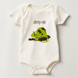 dirty rat baby creeper
