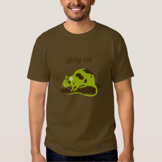 dirty rat t shirt