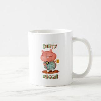Dirty Reggae Pig Coffee Mug