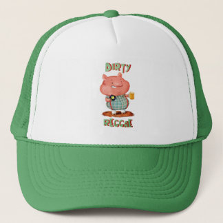 Dirty Reggae Pig Trucker Hat