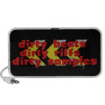 Dirty Riffs, Dirty Beats, Dirty Samples iPod Speakers